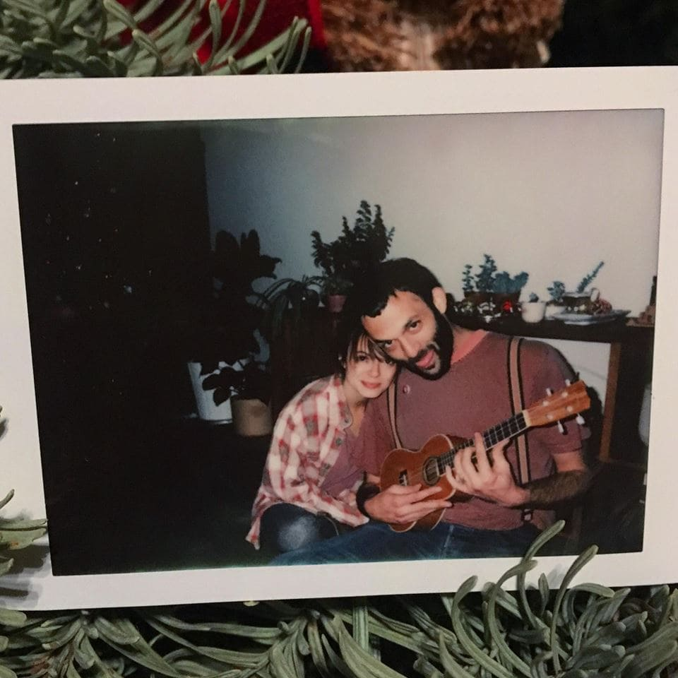 Agnosia Ceaseless fun Christmas tree Polaroid
