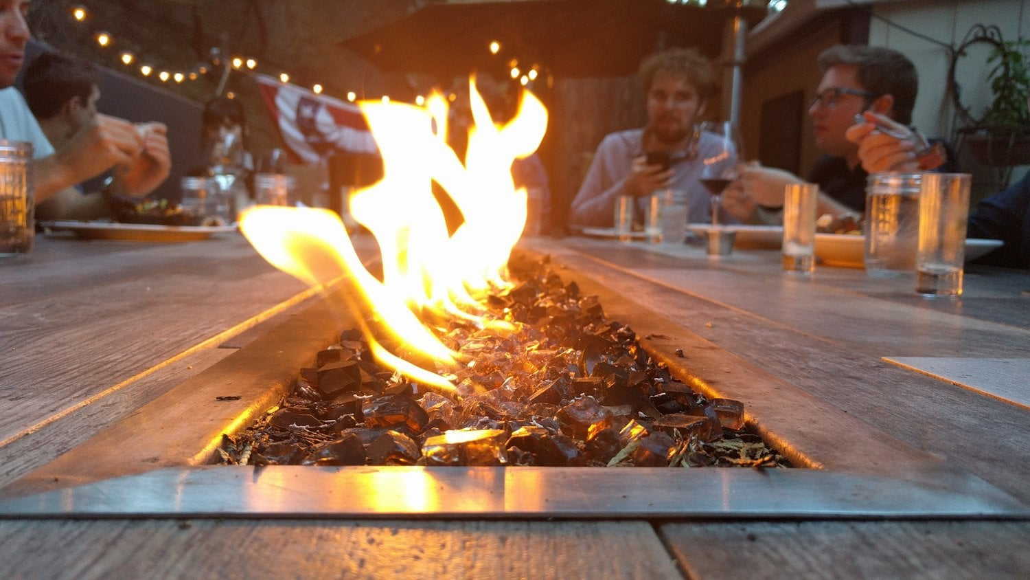 Blackwood Charter | Fire Pit