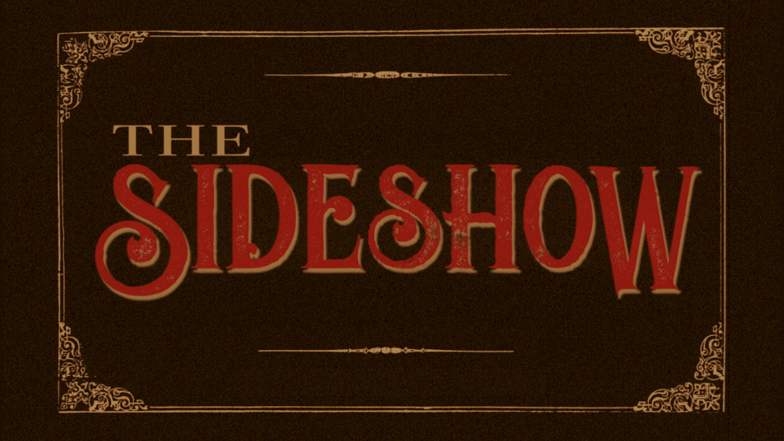 The Sideshow   Banner