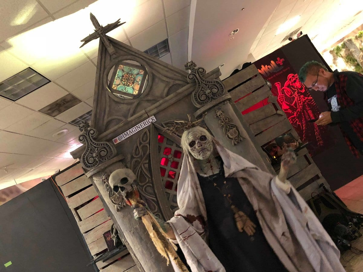 horrorworld larry bones into the black fleshyard psycho sanitarium puente hills mall rowland heights